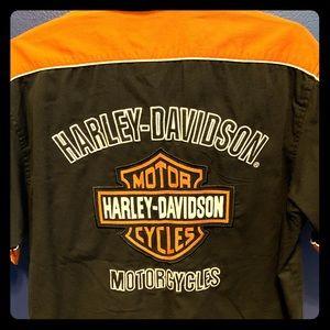 Harley Davidson Men's performance shirt